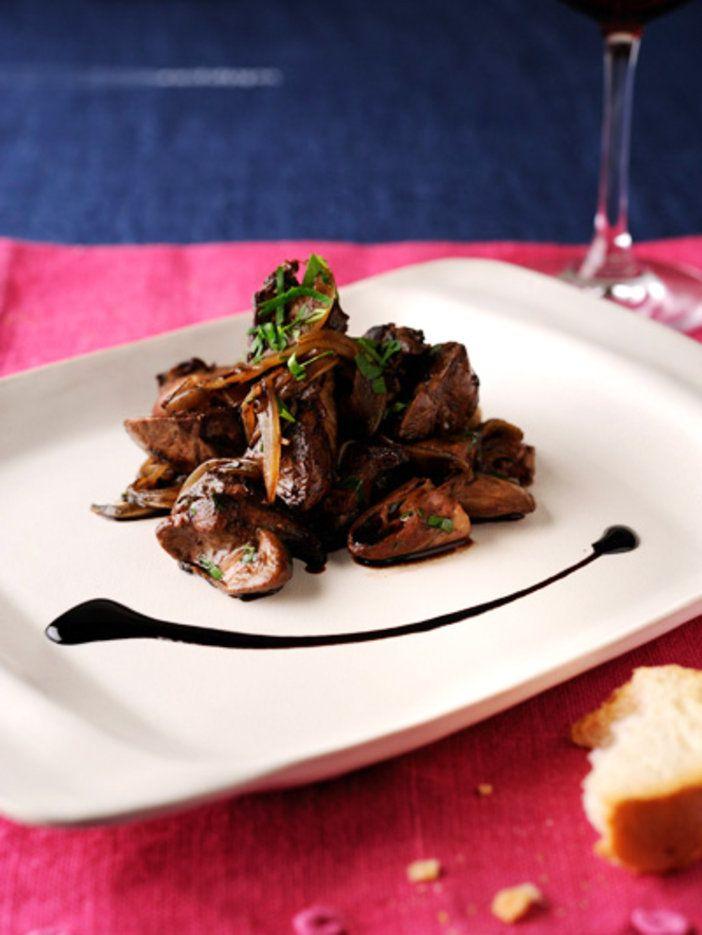 新鮮な鶏レバーが手に入ったら、ぜひつくってみて。簡単なのに、おめかし度がアップする本格イタリアンメニュー。|『ELLE a table』はおしゃれで簡単なレシピが満載!