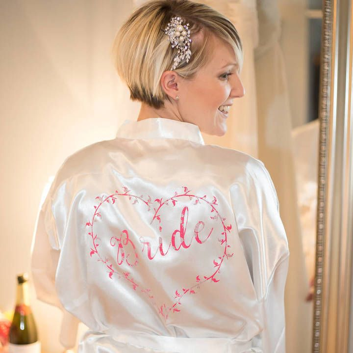 The 25+ best Bridesmaid dressing gown gifts ideas on Pinterest ...