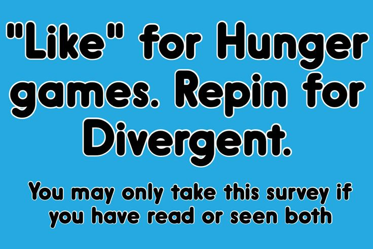 Teen post  Hunger games vs. divergent