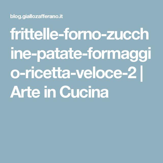 frittelle-forno-zucchine-patate-formaggio-ricetta-veloce-2 | Arte in Cucina