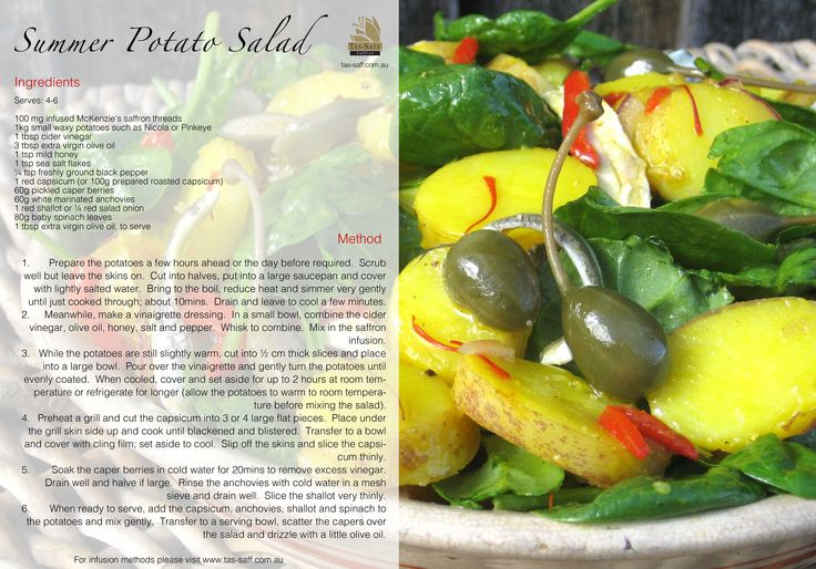 Summer Potato Salad. Get colourful with your food by creating this beautiful summer salad, it's super refreshing!