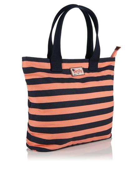 Superdry Summer Time Tote Bag Pink