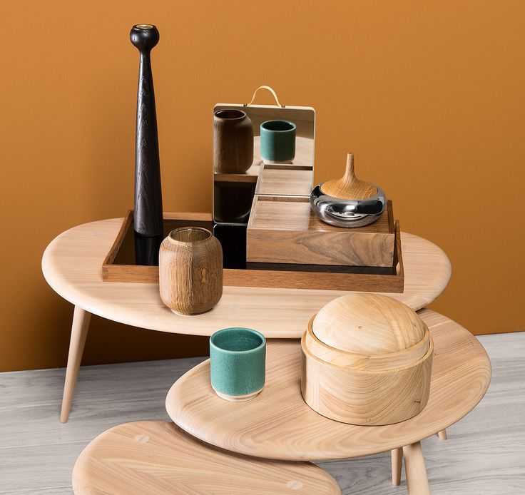 Call of nature. We're bringing the outside in with creations carved from wood. Shop now at store.wallpaper.com