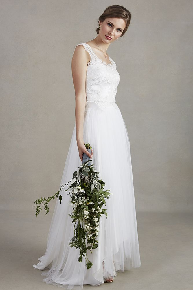 Ballerina Style Wedding Skirt By Sally La