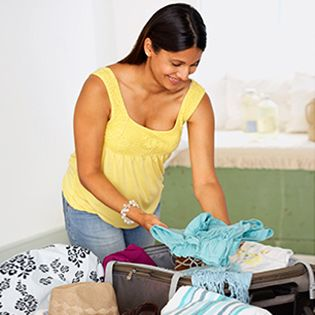 Pregnancy Checklists: Do it now, so there's no last-minute scramble to fill a suitcase between contractions.