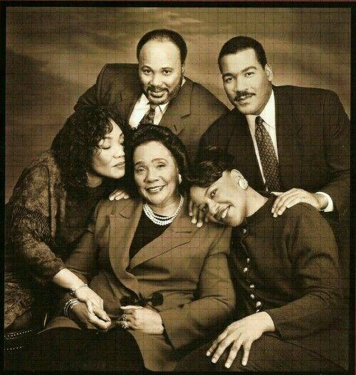 Mrs. Coretta Scott King With Children Yolanda, Martin III, Dexter & Bernice King ... Luv This Photo ...