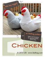 Ok, so I really want to buy this pattern and make M some egg laying chickens! How adorable:)