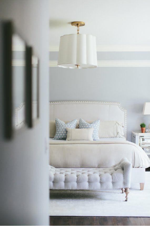 Calm neutral bedroom design