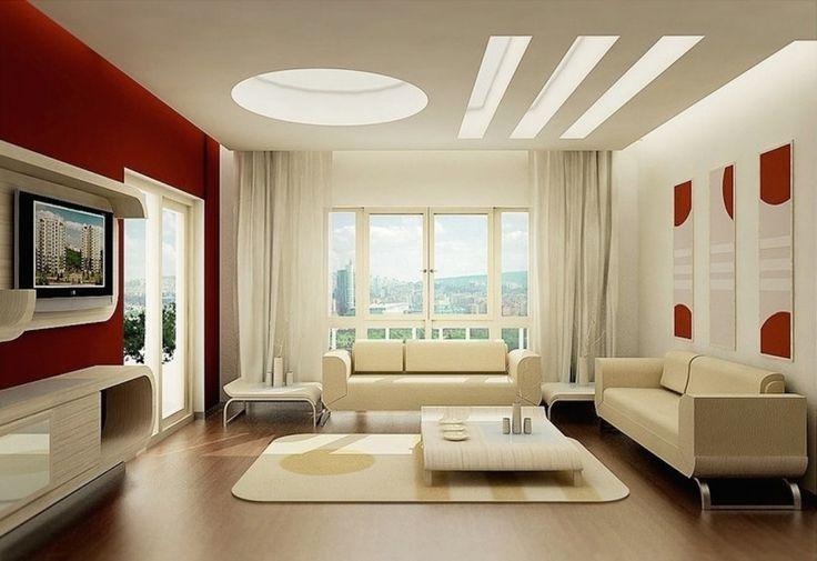 Дизайн уютных гостиных комнат - Свет