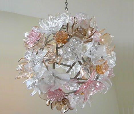 chandeliers | design chandeliers glass chandelier by elizabeth lyons chandeliers mar ...