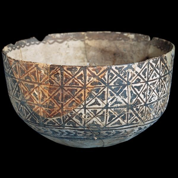 Halaf Culture, 5500-5000 BC From Arpachiyah, Northern Iraq. British Museum, London