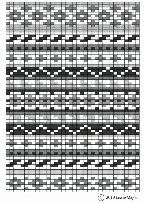 fair isle free pattern