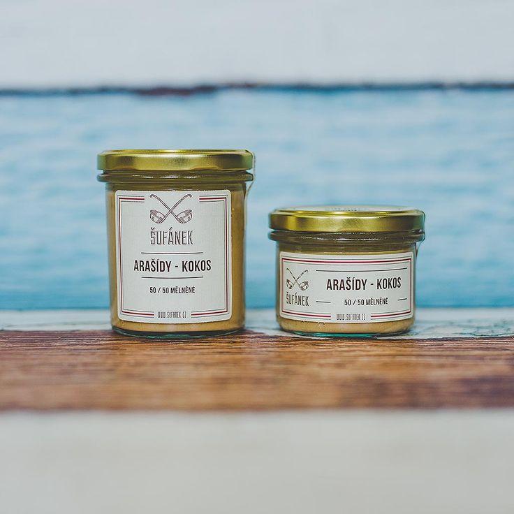 Arašídovo-kokosové máslo | Šufánek