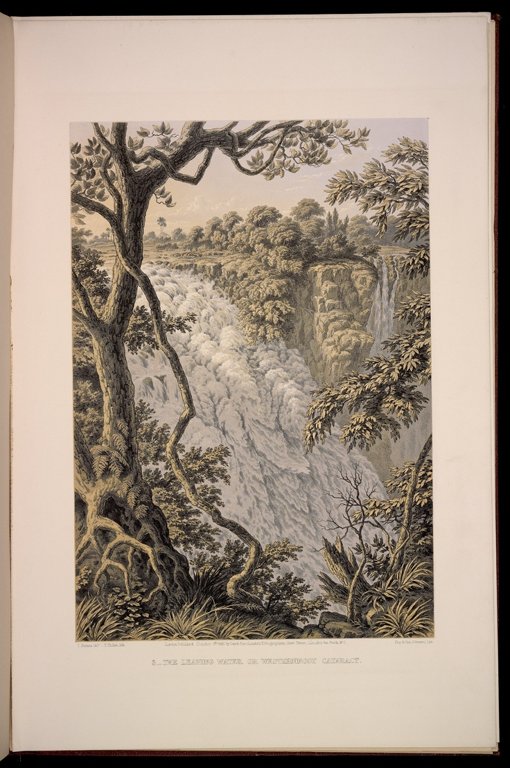 Plate 3: The Leaping Water or Westernmost Cataract.