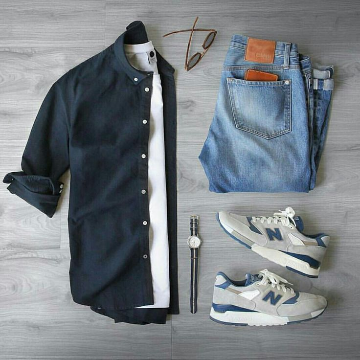 Outfit grid - Casual Saturday