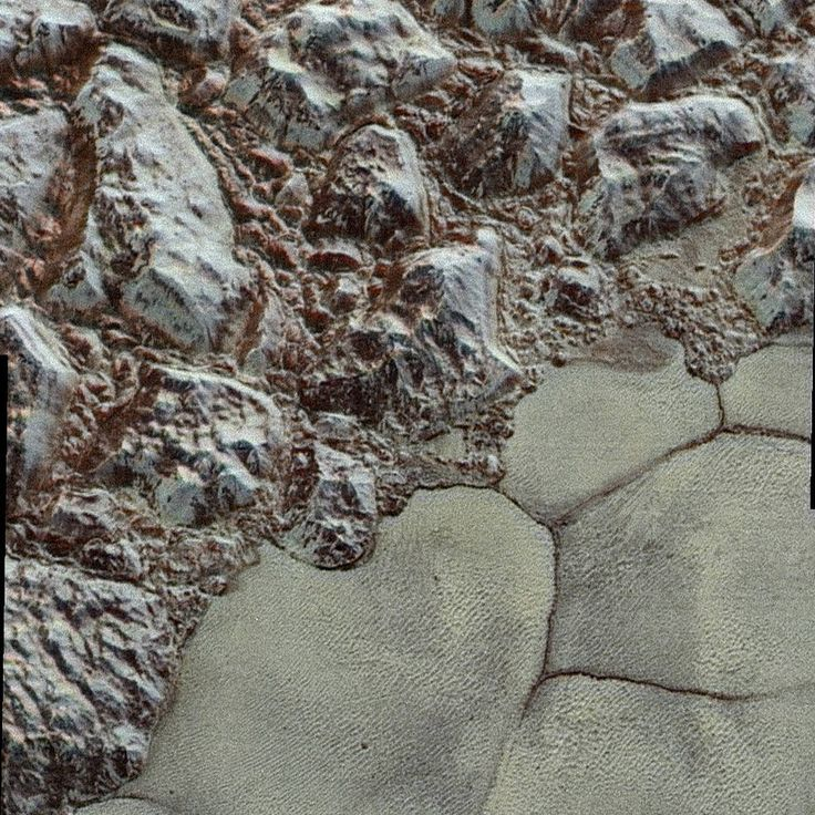 Pluto's Close-up, Now in Color - 12/10/2015 - Pluto was ready for its close-up during the July 14 New Horizons #PlutoFlyby, and now we have those images in color! The wide variety of cratered, mountainous and glacial terrains seen here gives scientists and the public alike a breathtaking, super-high-resolution color window into the dwarf planet's geology. Take a look: http://go.nasa.gov/1RHgSa9