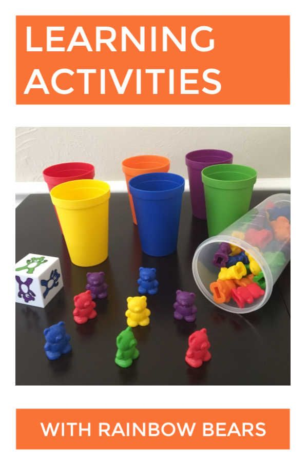 Counting Bears Printables and Activities