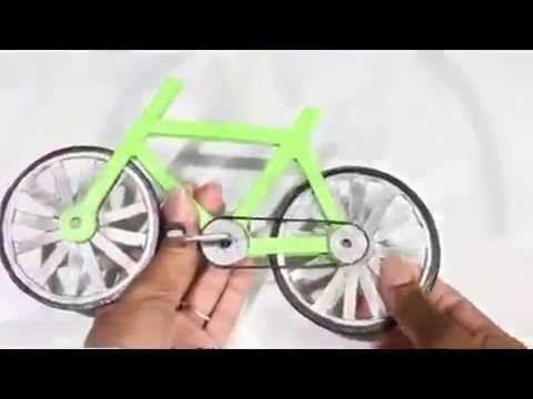 Como fazer um bicicleta legal , Monster High - YouTube