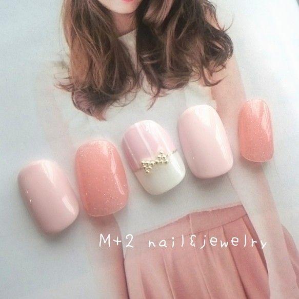 浪漫粉嫩!10款日系唯美「裸粉X白」美甲,營造溫柔小女生氛圍〜 | Girls 女生日常|PressLogic
