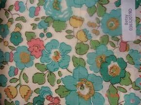 Shaukat - Liberty fabrics storeMes Liberty, Liberty London, Cotton Liberty, 03632019D Aqua, Betsy 03632019D, Products, Liberty Fabrics