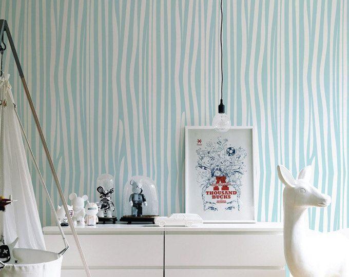 Die Besten 25+ Zebra Wallpaper Ideen Auf Pinterest Blau Weiße   Badezimmer Primadonna  04