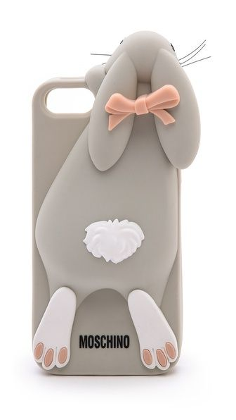 Moschino Rabbit iPhone 5 Case UGHHHH. Why is everyone so cruel to us loyal android people? too cute.