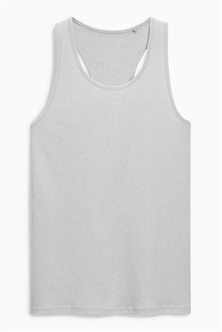 Grey Rib Vest