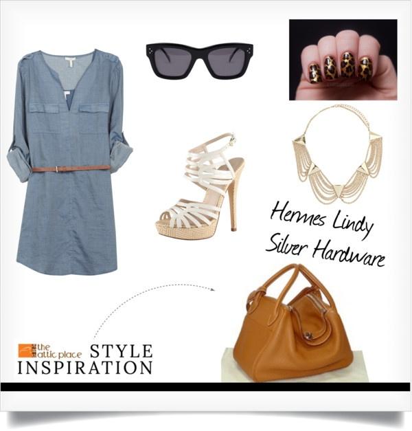 Style inspiration - Hermes Lindy 34 Gold \u0026#39;P\u0026#39; Stamp Silver Hardware ...