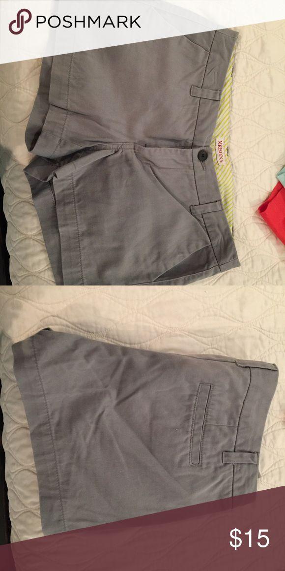 Merona gray shorts size 4 Merona gray shorts size 4 Merona Shorts