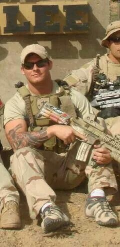 """Navy Seal Rob Gouzze who sacrificed his life for our freedom. A Warrior...""""Better to die a lion than be slaughtered as sheep""""."""