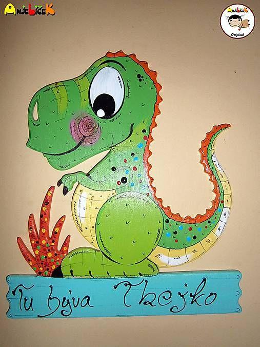 anjelicek / Menovka - tyranosaurus