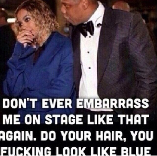 So funny, sick! Beyonce and JayZ