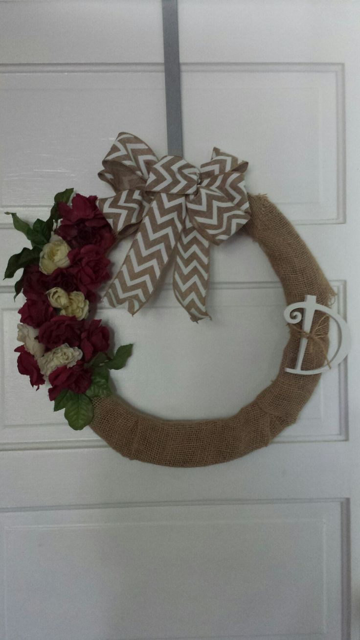 The 18 best Summer wreaths images on Pinterest | Flower crown, Metal ...
