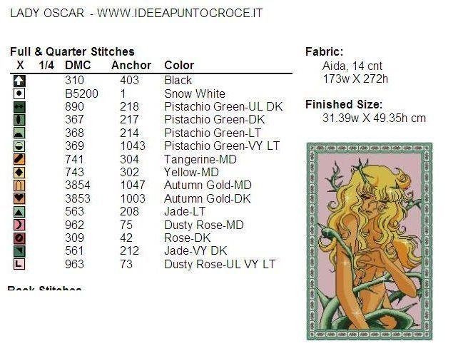 colori lady oscar