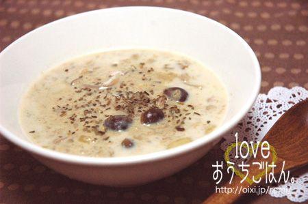 里芋とごぼうの優し味わいスープ☆