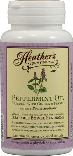 Heather's Tummy Care Peppermint Oil -- 90 Enteric Coated Softgels - Vitacost    I sincerely couldn't do without these!  They are such a lifesaver for me, living with Interstitial Cystitis.