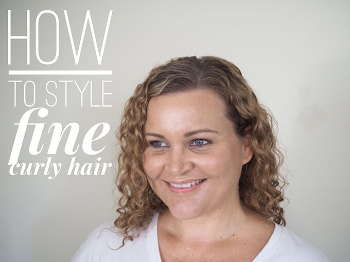 Hair Style Curly: Best 25+ Fine Curly Hairstyles Ideas On Pinterest