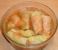 Острые маринованные голубцы по-корейски (закусочные голубцы )