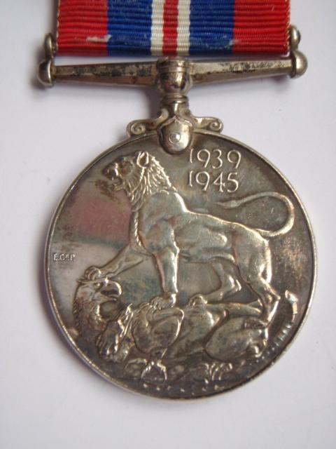 Canadian WW2 War Medal - Silver