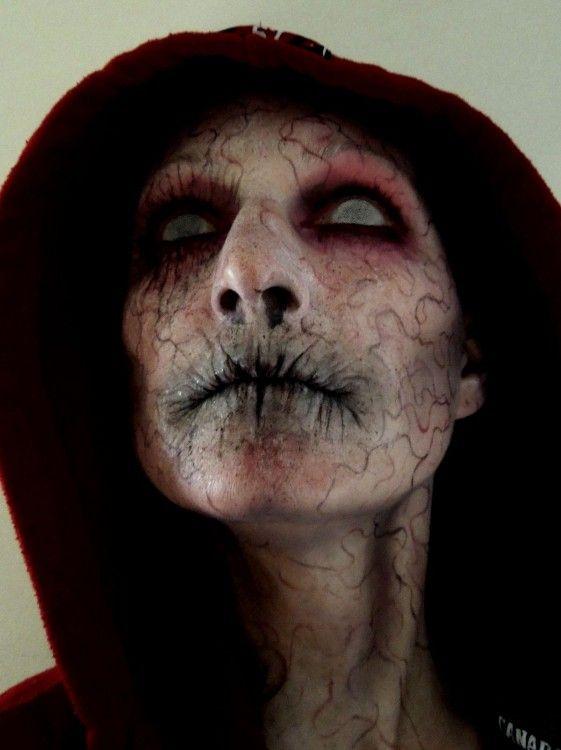Maquillaje del monstruo del closet