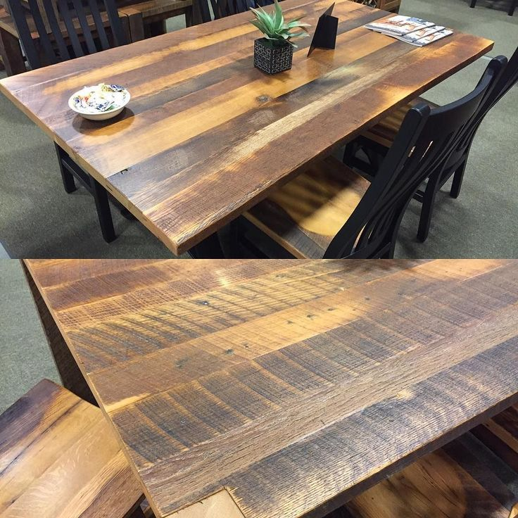 The M.L. Campbell Display At The Ohio Hardwood Furniture Show Was Filled  With Beautiful Amish Built