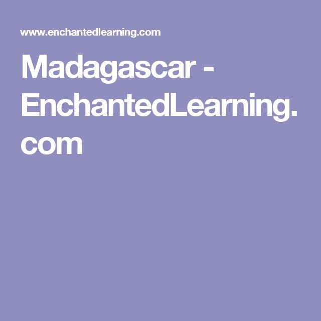 Madagascar - EnchantedLearning.com