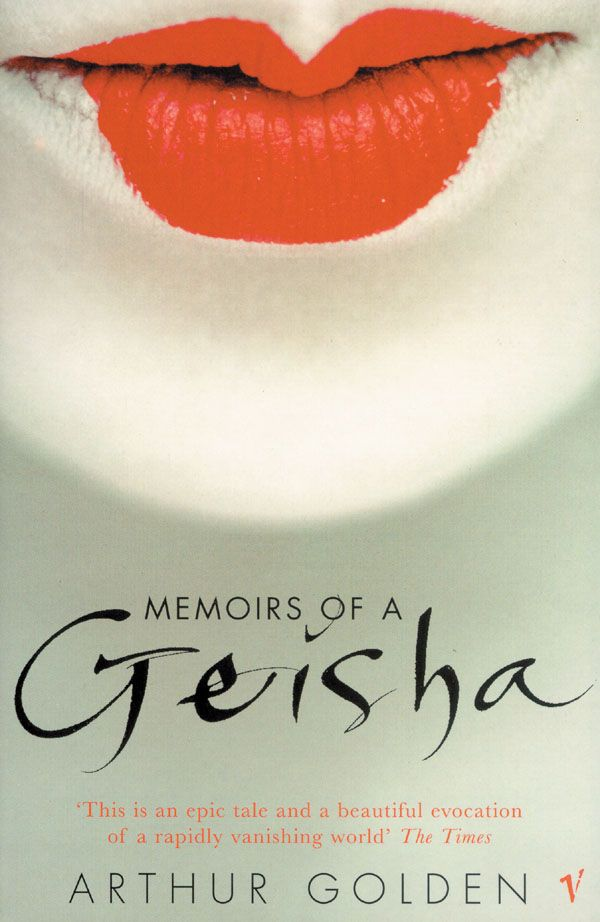 Memoirs Of A Geisha by Arthur Golding. 1930s, Kyoto, where a young peasant girl is sold as servant and apprentice to a renowned geisha house. She tells her story many years later in New York where she conjures up the perfection and the ugliness of life behind rice-paper screens, where young girls learn the arts of geisha - dancing and singing, how to wind the kimono, how to walk and pour tea, and how to beguile the most powerful men.