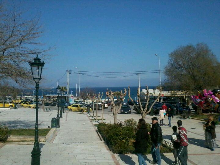 Πλατεία Ραφήνας in Ραφήνα, Αττική