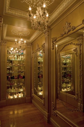 Louis XIV Panels Applied On Mirrors In This Fabulous Closet At  Beaux Artes.com