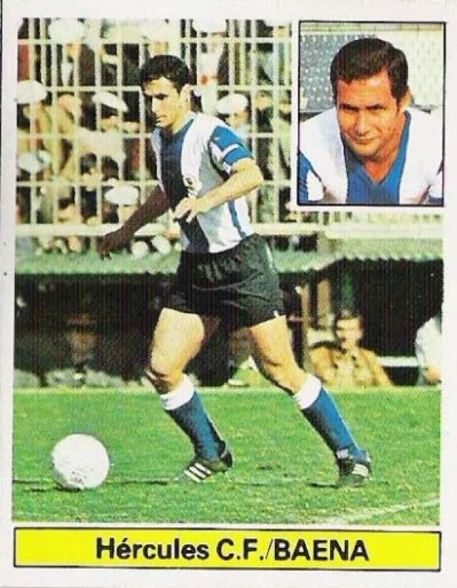 Juan Baena of Hercules Alicante in 1988.