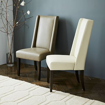 willoughby dining chair elephant leather upholstered dining room chairsleather - Leather Dining Room Furniture