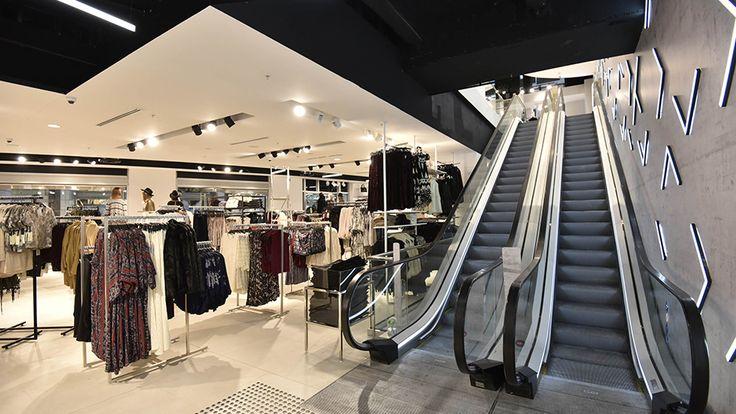 Inside the new flagship Forever 21 store in Pitt Street Mall