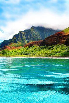 Napali Coast Kauai, Hawaii