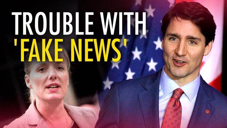 "Ezra Levant: Trudeau's ""authoritarian"" approach to ""fake news"""